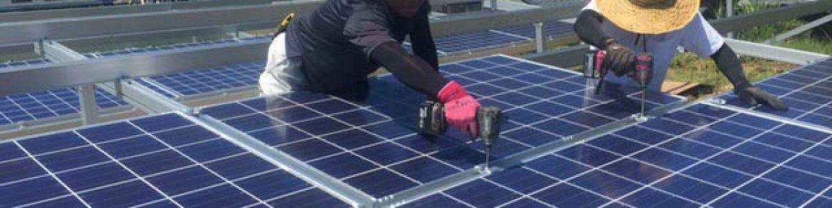 太陽光発電システムの施工・O&M